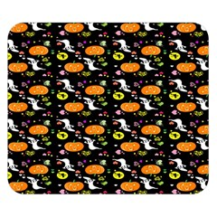 Ghost Pumkin Craft Halloween Hearts Double Sided Flano Blanket (small)  by Mariart