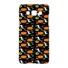 Ghost Pumkin Craft Halloween Hearts Samsung Galaxy A5 Hardshell Case  by Mariart