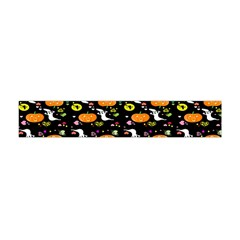 Ghost Pumkin Craft Halloween Hearts Flano Scarf (mini) by Mariart