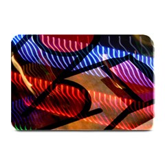 Graphic Shapes Experimental Rainbow Color Plate Mats by Mariart