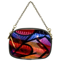 Graphic Shapes Experimental Rainbow Color Chain Purses (one Side)  by Mariart
