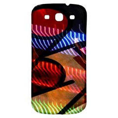 Graphic Shapes Experimental Rainbow Color Samsung Galaxy S3 S Iii Classic Hardshell Back Case by Mariart