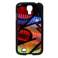 Graphic Shapes Experimental Rainbow Color Samsung Galaxy S4 I9500/ I9505 Case (black) by Mariart