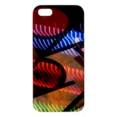 Graphic Shapes Experimental Rainbow Color Iphone 5s/ Se Premium Hardshell Case by Mariart