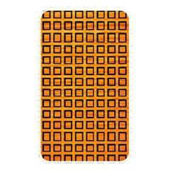 Halloween Squares Plaid Orange Memory Card Reader by Mariart