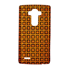 Halloween Squares Plaid Orange Lg G4 Hardshell Case by Mariart