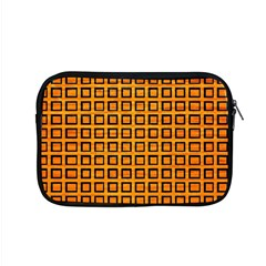 Halloween Squares Plaid Orange Apple Macbook Pro 15  Zipper Case by Mariart