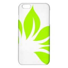 Leaf Green White Iphone 6 Plus/6s Plus Tpu Case by Mariart