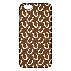 Horse Shoes Iron White Brown Iphone 6 Plus/6s Plus Tpu Case by Mariart