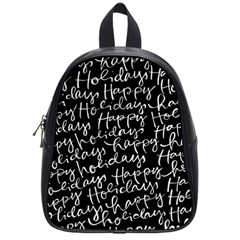 Happy Holidays School Bags (small)  by Mariart