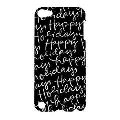 Happy Holidays Apple Ipod Touch 5 Hardshell Case by Mariart