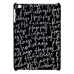 Happy Holidays Apple Ipad Mini Hardshell Case by Mariart