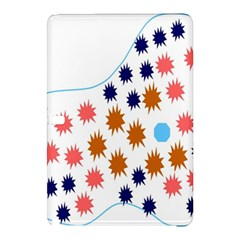 Island Top View Good Plaid Spot Star Samsung Galaxy Tab Pro 10 1 Hardshell Case by Mariart