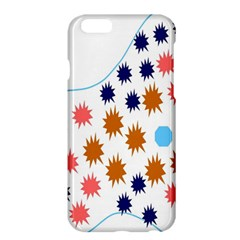 Island Top View Good Plaid Spot Star Apple Iphone 6 Plus/6s Plus Hardshell Case by Mariart