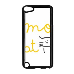 Lemon Animals Cat Orange Apple Ipod Touch 5 Case (black) by Mariart
