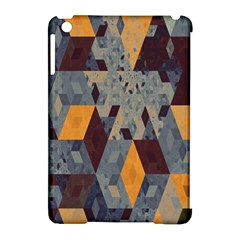 Apophysis Isometric Tessellation Orange Cube Fractal Triangle Apple Ipad Mini Hardshell Case (compatible With Smart Cover) by Mariart