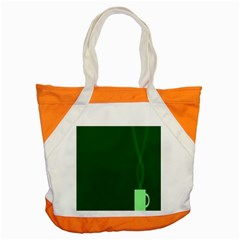 Mug Green Hot Tea Coffe Accent Tote Bag by Mariart