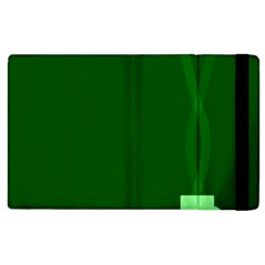 Mug Green Hot Tea Coffe Apple Ipad 3/4 Flip Case by Mariart