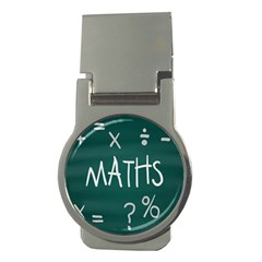 Maths School Multiplication Additional Shares Money Clips (round)  by Mariart