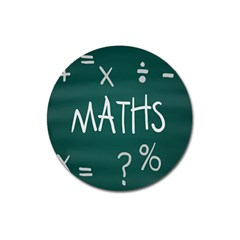 Maths School Multiplication Additional Shares Magnet 3  (round) by Mariart