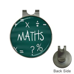 Maths School Multiplication Additional Shares Hat Clips With Golf Markers by Mariart