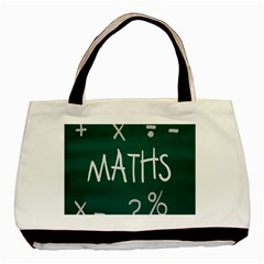 Maths School Multiplication Additional Shares Basic Tote Bag (two Sides) by Mariart
