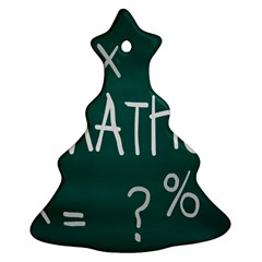 Maths School Multiplication Additional Shares Christmas Tree Ornament (two Sides) by Mariart