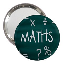 Maths School Multiplication Additional Shares 3  Handbag Mirrors by Mariart