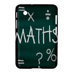 Maths School Multiplication Additional Shares Samsung Galaxy Tab 2 (7 ) P3100 Hardshell Case  by Mariart