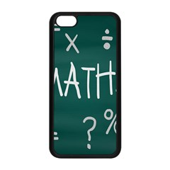 Maths School Multiplication Additional Shares Apple Iphone 5c Seamless Case (black) by Mariart