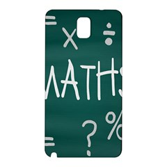 Maths School Multiplication Additional Shares Samsung Galaxy Note 3 N9005 Hardshell Back Case by Mariart