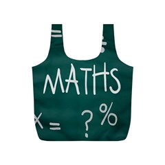 Maths School Multiplication Additional Shares Full Print Recycle Bags (s)  by Mariart