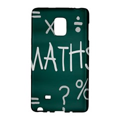 Maths School Multiplication Additional Shares Galaxy Note Edge by Mariart