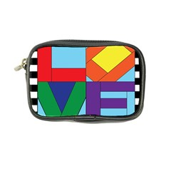 Rainbow Love Coin Purse by Mariart