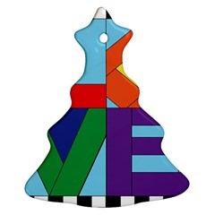 Rainbow Love Ornament (christmas Tree)  by Mariart