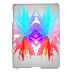 Poly Symmetry Spot Paint Rainbow Samsung Galaxy Tab S (10 5 ) Hardshell Case  by Mariart