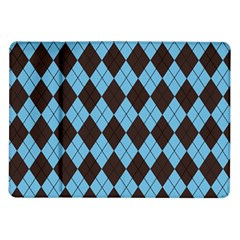 Plaid Pattern Samsung Galaxy Tab 10 1  P7500 Flip Case by Valentinaart