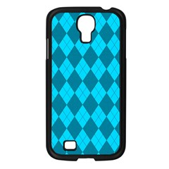 Plaid Pattern Samsung Galaxy S4 I9500/ I9505 Case (black) by Valentinaart