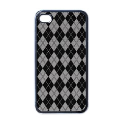 Plaid Pattern Apple Iphone 4 Case (black) by Valentinaart