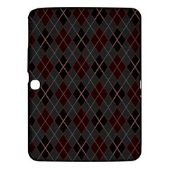Plaid Pattern Samsung Galaxy Tab 3 (10 1 ) P5200 Hardshell Case