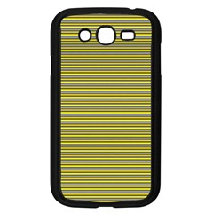 Lines Pattern Samsung Galaxy Grand Duos I9082 Case (black) by Valentinaart