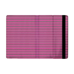 Lines Pattern Apple Ipad Mini Flip Case by Valentinaart