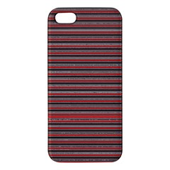 Lines Pattern Apple Iphone 5 Premium Hardshell Case