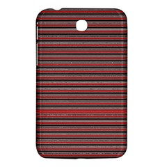 Lines Pattern Samsung Galaxy Tab 3 (7 ) P3200 Hardshell Case  by Valentinaart