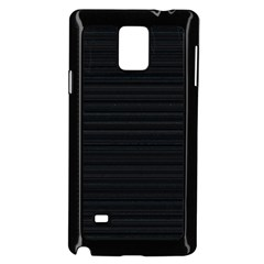 Lines Pattern Samsung Galaxy Note 4 Case (black)