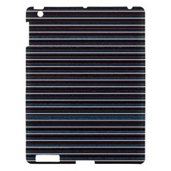 Lines Pattern Apple Ipad 3/4 Hardshell Case by Valentinaart