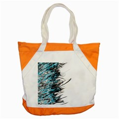 Fire Accent Tote Bag by Valentinaart