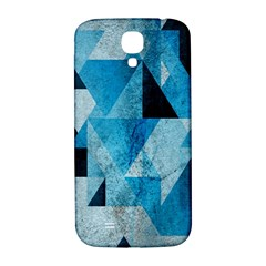 Plane And Solid Geometry Charming Plaid Triangle Blue Black Samsung Galaxy S4 I9500/i9505  Hardshell Back Case by Mariart