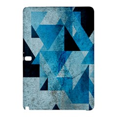 Plane And Solid Geometry Charming Plaid Triangle Blue Black Samsung Galaxy Tab Pro 12 2 Hardshell Case by Mariart
