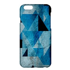 Plane And Solid Geometry Charming Plaid Triangle Blue Black Apple Iphone 6 Plus/6s Plus Hardshell Case by Mariart